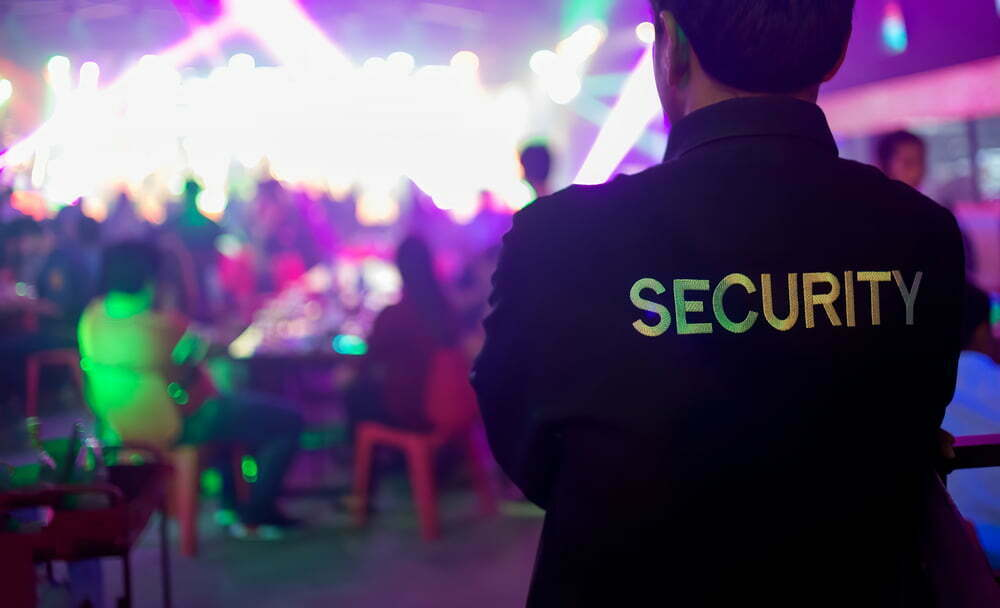 why your event needs security, security guard